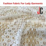 Hot sale elegant cotton nylon lace fabric for lace dress fabric