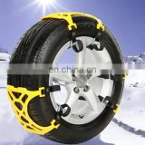 Wholesale Car Accessories Winter Tyre Chains Car Snow Tyre Anti-skid Chains Chains 6pcs/set For 1 Car
