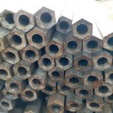 Out hexagon inner round seamless steel pipe
