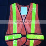 High visibility Reflective Band Mesh Safety Warning Reflective Vest Reflective Warning Waistcoat