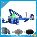 Automatic Waste tire recycling machine_Waste tyre recycling rubber powder production line