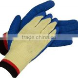 gardening used latex coated hand job gloves manufacturer in china