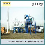 With good configuration CAP20,CAP40,CAP60,CAP80 Continuous Type Drum Bitumen Mixing Machine