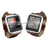 Alibaba 2014 New product!!! fashion lady watch of MTK6260/color E-Ink screen/bluetooth mobile phone, smart watch