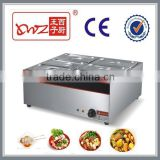 6 Pot Electric Bain Marie Cooking Equipment                                                                         Quality Choice
