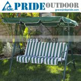 Outdoor Leisure Waterproof Easy 3 Seater Swing Chair Patio Swing Hanging Chair
