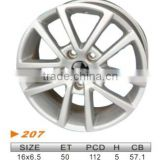 "alloy wheel,VW 16""x6.5 207"
