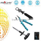 Quality Saltwater Fishing Combo with Stainless Steel Fish Lip Grip and Pliers and Hook Remover China Manufacture