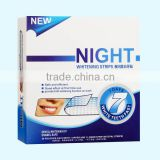 2016 new promotional dental care, mint flavor tooth whitening strips