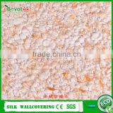 eco-friendly cheap fiber decor wall coating