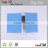 plastic single spring clip foldable folder clip file