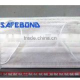 Safebond Free Samples Medical Disposable 3ply Non-woven Face Mask Disposable Oxygen Mask