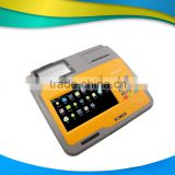 New arrival!!! 7 inch touch screen pos terminal with built-in printer and barcode scanner------Gc039D