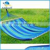 Outdoor camping canvas travel hammock