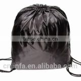 Polyester,Canvas, Cotton, Non-woven, Nylon Material and Shopping Bag Use drawstring cotton backpack