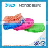 promotional hot selling colorful 8mm braid colored clothes line rope for wholesale