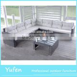 Modern Wicker Sofa Set Used Hotel Lobby Furniture