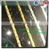 11mm wire saw accessories(sintered diamond beads) for diamond wire -diamond wire saw for stone process