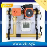 Brass Floor Heating Water Manifold With Digital Gauge (YZF-L088)