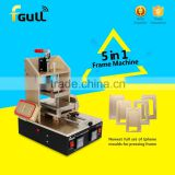 Multi function 5 In 1 LCD Separator Glue Remover Frame Bezel Laminate Machine for lcd refurbishment