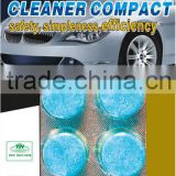 1Tablet=4 liter traditional compact car wash,cleaner stock easily and cleaning equipments
