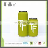 OEM ODM private label water tumbler with straw cola shape bottle vacuum insulated bottle