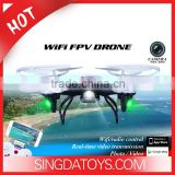 Hot Product!WIFI Version Fast and Stable Connection 2.4G 6-axis RC FPV Drone Quadcopter with Camera Real Time Transmission