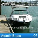 6m fiberglass convertible top motor boat (600 Hard Top Convertible)