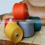 regenerated cotton polyester blended sock yarn, open end yarn mills