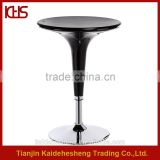 Fashion Chrome Frame ABS Bar Table