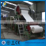 High quality small 787mm toilet paper making machinery