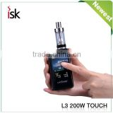 Touch Screen Box Mod Laisimo L3 200w TC Electronic Cigarette Wholesale E Smoke Vaing Mod Supply