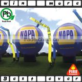 pvc balloon,15' inflatable logo globe for sale