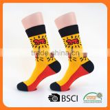 factory indoor flooring men crew fashion custom dress socks