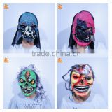 halloween scary realistic cosplay anubis mask jason rubber mask zombie mask latex horror mask
