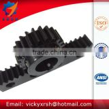 High quality straight rack and pinion for hoist