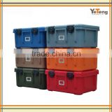 seafood transportation marine cooler box mould with wheels