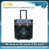 New arrival home theater , 10 inch trolley speaker with USB/SD/Mic Input fromprofessional speaker factory