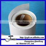 115gsm 60micron self adhesive pvc glossy laminating film roll for posters