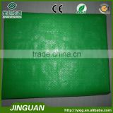 Green agricultural PP woven fabrics,plastic mulch film,plastic weed mat in individual packages