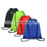 2015 hot sale bright color waterproof nylon gym sports draw string bags for sale                                                                         Quality Choice