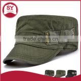 Adult outdoor travelling flat army hats women and men summer camo military baseball caps