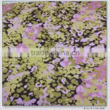Fashion new design pretty colorful simulation silk finishing indonesia cotton for ladies' garment printed satin fabric