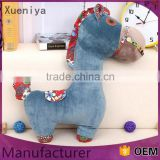 Popular Baby Standard Animal Plush Toys Little Pony Ride On Horse Toy