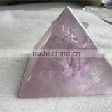 new polished natural Amethyst pyramid /gemstone pyramids