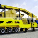 High capapcity jaw crusher series stationary crushing and screening plant price for sale