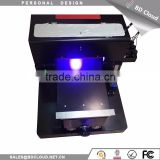 UV Led Printer UV Flatbed Printer A4 6 Color Inkjet PVC Card Printing Machine, PVC Digital Printing Sheet