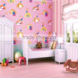 Decorative mural soundproof luxury non-woven wallcovering