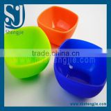 Trade assurance 100% food grade newest silicone collapsible bowl /square silicone bowl wholesale good quality