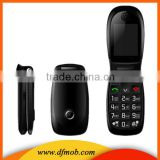Fashion 2.2INCH QVGA MTK6260 Big Keyboard Big Font GPRS/WAP 4 Band Unlocked GSM Flip Elder Phone T03